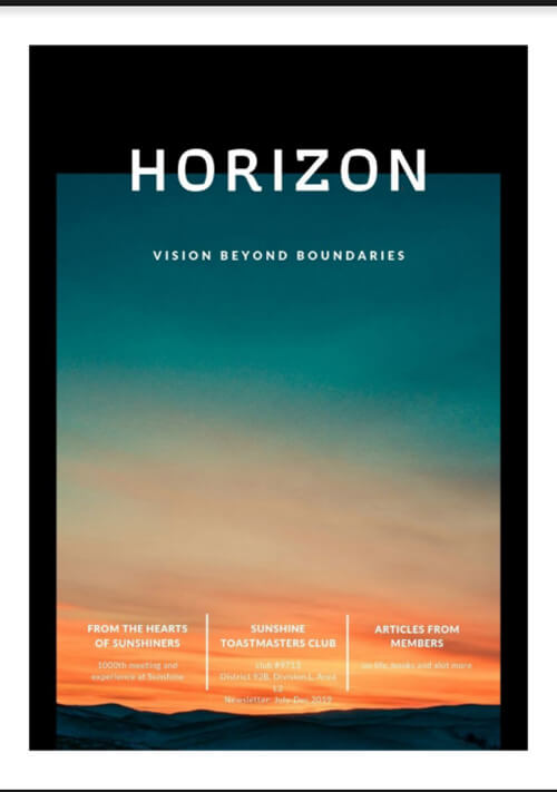 horizon-tm-newsletter